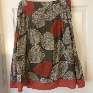 Merona Leaf Skirt